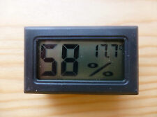 DIGITAL HYGROMETER/ HUMIDITY/ TEMPERATURE TESTER, IDEAL FOR INSTRUMENT CASE, UK!