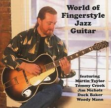 WORLD OF fingerstyle JAZZ CHITARRA per imparare a giocare Folk Country Music CD