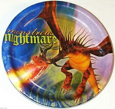 ~~~HOW TO TRAIN YOUR  DRAGON~~ 8- DESSERT  PLATES PARTY  SUPPLIES
