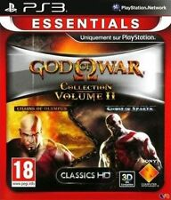 39338//GOD OF WAR COLLECTION 2 CHAINS OF OLYMPUS/GHOST OF SPARTA PS3 NEUF