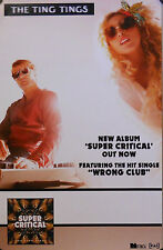 TING TINGS, SUPER CRITICAL POSTER (E4)