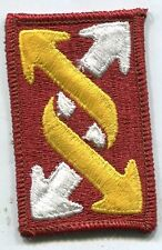 US Army 143rd Transportation Brigade Color Patch