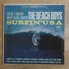 The Beach Boys Surfin' USA 1963 Vinyl LP Capitol Records ST 1890