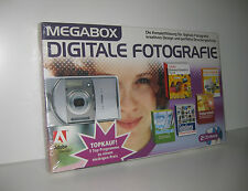 Digitale Fotografie - 2 CD-ROMs - Megabox 5 Programme - NEU