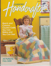 Country Handcrafts Magazine - Bazaar 1993 Quick & Colorful Country Crafts