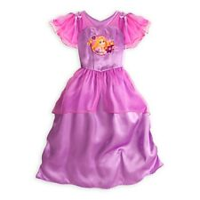 NEW Disney Store Princess Rapunzel Deluxe Nightgown 7/8 NWT Tangled