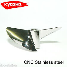 Kyosho JET STREAM 888VE, X543 CNC STAINLESS STEEL PROPELLER RC BOAT PROP