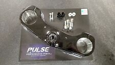 BLACK ZRX TRIPLE CLAMP ZX14 CONVERSION ZRX1200 ZRX 1200 ZRX1200R ZRX1100 1100