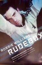 Robbie Williams - Rude Box - Rare Original Promo Poster - 20x30 Inches