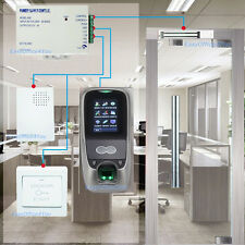 Multibio700/iface7 face recognization access control system 280KG magnetic lock