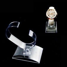 Plastic Display Cheap Nice Case Holder Rack Show Clear Stand For Wrist Watch j