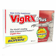 VIGRX PLUS Male Enhancement Pills BIG HARDER ORGASMS Virility Penis Enlargement