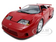 BUGATTI EB110 EB 110 RED 1:18 DIECAST CAR MODEL BY BBURAGO 12023