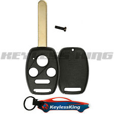Remote Key Fob Shell Pad Case for 2003 2004 2005 2006 2007 Honda Accord