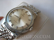 OMEGA SEAMASTER CROSS HAIR DIAL AUTO WATCH FIRST GENERATION RICE BAND SERVICED!!