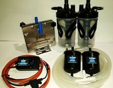 WASSERSTOFF, PURE H2 GENERATOR DM-45 FUEL ECONOMY CAR KIT CCPWM INSTEAD HHO USE.
