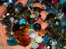 New 500/pcs Glass faceted Jesse James beads 6-15mm mixture of loose beads