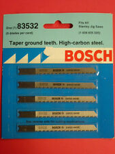 NEW! BOSCH #83532 TAPER GROUND TEETH, JIG SAW BLADES , WOOD OR PLASTIC