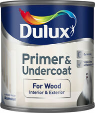 Dulux Primer and Undercoat for Wood