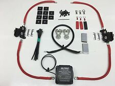 1mtr Split Charge Kit M-Power VSR 110amp Ready Made Leads Land Rover Defender