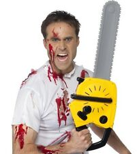Halloween Fancy Dress Mock Horror Chainsaw with Sound & Batteries inc. Smiffys