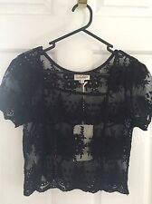 Arnhem Top Maple Black Size S Small New With Tags NWT Festival
