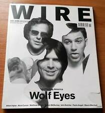The Wire magazine 249 Wolf Eyes Albert Ayler Alvin Curran Matthew Bower