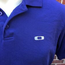 Oakley Sunglasses Men's Size L Large Dark Blue Casual Shirt