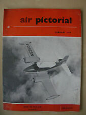 AIR PICTORIAL MAGAZINE JANUARY 1959 CESSNA 310C
