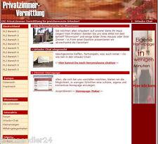 ZIMMERVERMITTLUNG WEBPORTAL PRIVATZIMMER ZIMMER PENSION Vermittlung WEBSEITE MRR