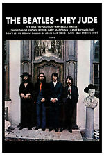 1970's The Beatles *Hey Jude* Capitol Promo Poster 1970 WINDOW CARD 13 x 19