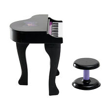 37 Key Kids Electronic Keyboard Mini Grand Piano Musical Toy w/ Stool Microphone