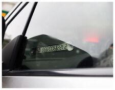 Temporanea Auto Parkkarte Numero Di Telefono Scheda Notifica Luminoso Argento