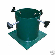 Cc Verde Metal al aire libre o insertar Navidad árbol de Navidad Con Soporte - 5,5 en tornillo de fijación