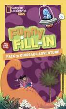 National Geographic Dinosaur Adventure Funny Fill-in - Children Geographic Kids