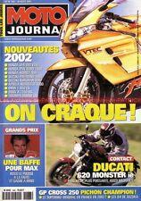 MOTO JOURNAL 1483 DUCATI 620 Monster Ie ; HONDA CB 900 HORNET ; BMW F650 CS 2001