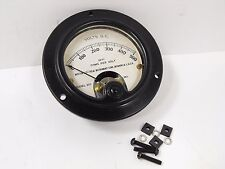 (1) Weston Model 301 Ham Radio Meter 0 - 500 DC Volts +Mounting Hardware VINTAGE