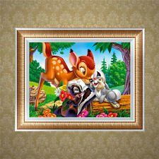 Animal DIY 5D Diamond Embroidery Painting Cross Stitch Craft Kit Home Decor