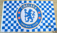 Chelsea Flag Banner 3x5 ft Blues Chekers England Premier Football Soccer