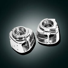 Chrome Switch Housings For Harley Davidson Electra Glide Road King FLH T R