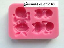 Sleeping Baby Silicone Mould Chocolate Sugarcraft Soap Christening Cake Topper