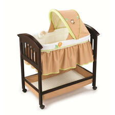 NIB Summer Infant Classic Comfort Wood Bassinet in Swingin Safari FREE GIFT LOOK