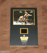 STONE COLD STEVE AUSTIN KANE ROYAL RUMBLE LIMITED edition FILM CELL DVD WWE WWF