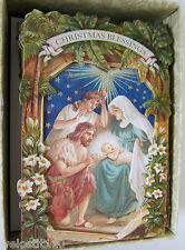 Punch Studio CHRISTMAS NATIVITY CHRISTMAS CARDS. Box10.  GORGEOUS!