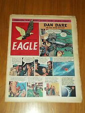 EAGLE #5 VOL 3 MAY 9 1952 BRITISH WEEKLY DAN DARE SPACE ADVENTURES*