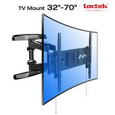 """Curved Full Motion TV Wall Mount Bracket for 32-70"""" LCD/LED/OLED TV Loctek R2"""
