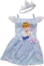 Disney Princess Girls' Blue Cinderella NIGHTDRESS 5-6 years Dress Up Costume New