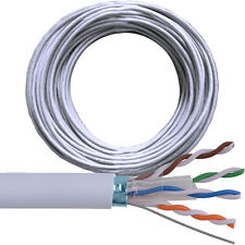 50M CAT6 FTP/STP Protegido Carrete Cable/tambor puro Ethernet de cobre red LAN