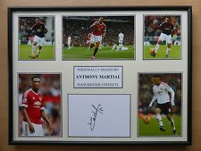 Anthony Martial Signed Man Utd Multi Picture Display - NEW 2015-16 Season