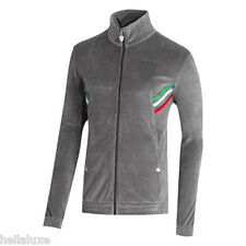 NWT~Puma FERRARI VELOUR JACKET Track Sweat Shirt Scuderia Motorsport top~Men Med